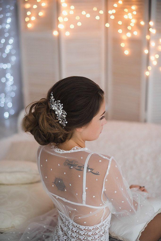 Copricapo da sposa da sposa capelli pettine capelli di nozze