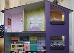 НАША СТРАНА МАСТЕРОВ: Мастер-класс по изготовлению кукольного домика сво...