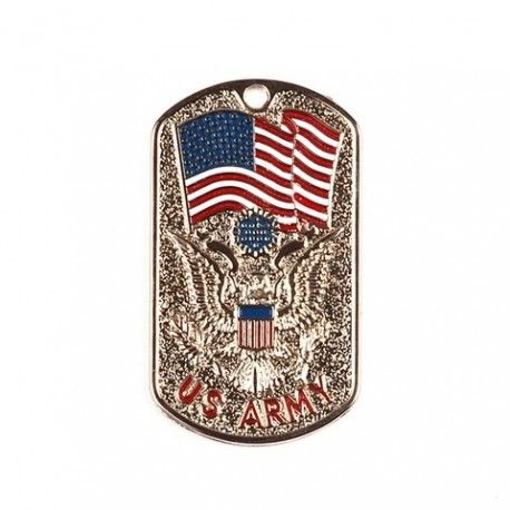 Dog Tag Pendentif  motif Drapeau US ARMY   Chaine https://sofrenchyboutic.pswebshop.com/fr/bijoux/50-dog-tag-pendentif-motif-drapeau-us-army-chaine.html
