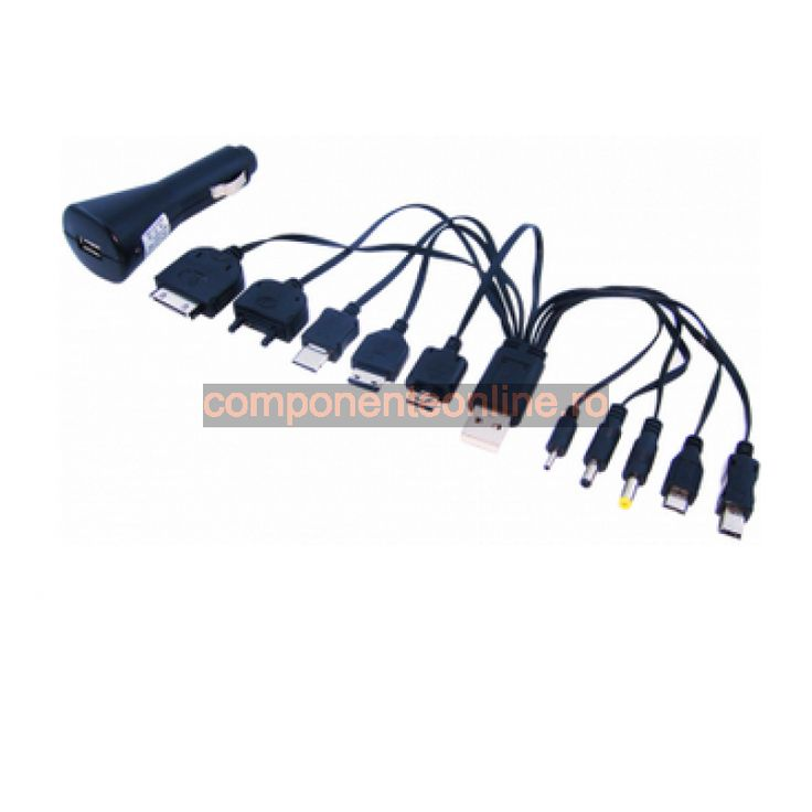 Incarcator universal USB, 12-24V, 5V, 1A - 113059