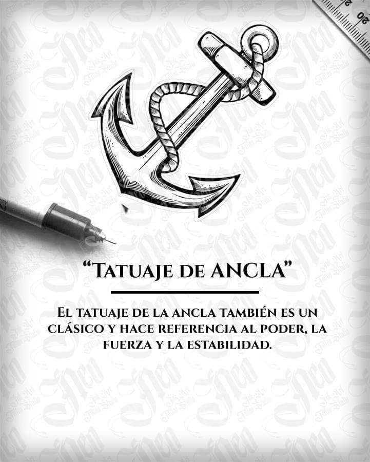 Significado De Tatuaje De Ancla Significado De Los Tatu