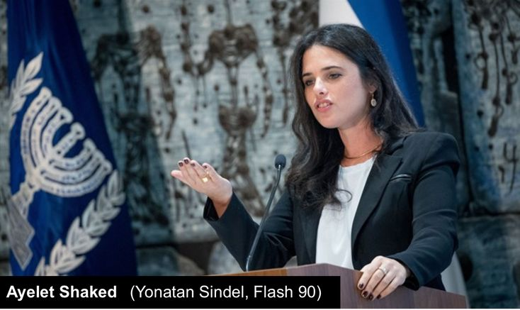 My Heart is with You Ayelet Shaked 7Lamps Of YHWH