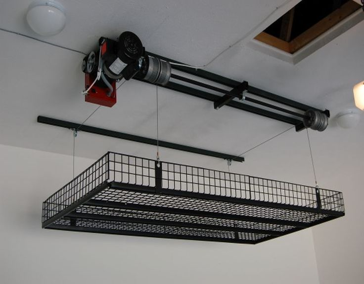Or Just Be Lazy Amp Put A Winch Up Suspended Garage