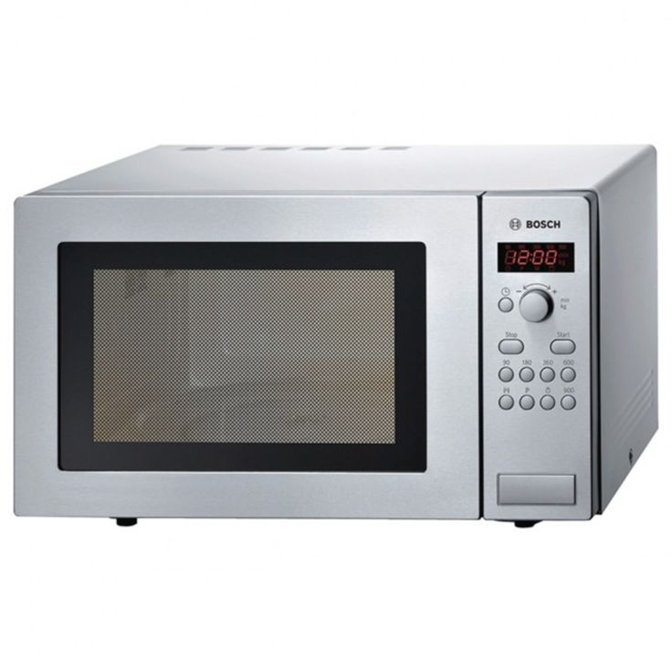 Image Of Bosch Hmt84m451b 800w Compact Microwave Oven In Brushed Steel