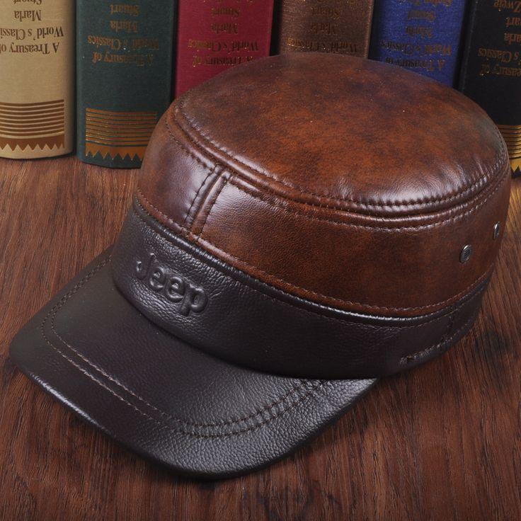 $39.99 (Buy here: https://alitems.com/g/1e8d114494ebda23ff8b16525dc3e8/?i=5&ulp=https%3A%2F%2Fwww.aliexpress.com%2Fitem%2FBrand-high-quality-Cowhide-Genuine-Leather-baseball-hat-men-and-women-autumn-winter-outdoor-sports-bone%2F32732918039.html ) Brand high quality Cowhide Genuine Leather baseball hat men and women autumn winter outdoor sports bone Ear protection cap for just $39.99