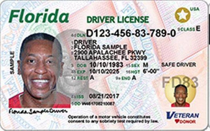Las licencias de conducir y documentos de identidad del