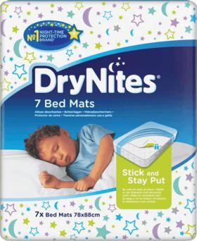 Die DryNites Bed Mats Betteinlagen sind ein perfekter Matratzenschutz für Kinder ab dem 12 Monat. Sie sind hochabsorbierend und die einzigen Betteinlagen,...