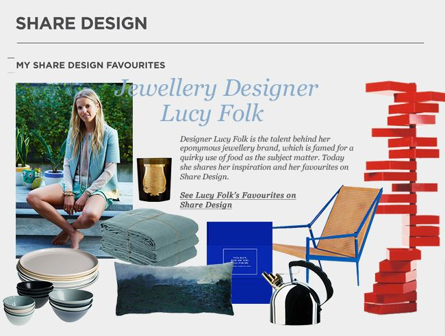 Lucy Folk Shares Her Favourites   Featured on Sharedesign.com