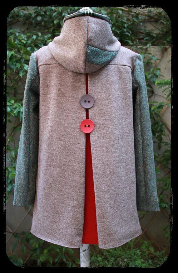 Winter hooded coat by EatingTheGoober
