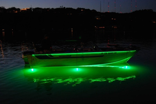 Customize Your Boat With LED Lighting   SuperNova Fishing Lights Great Pictures