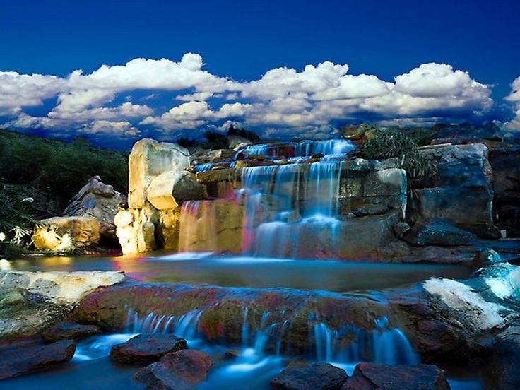 Cascadas de agua azul hd buscar con google cascadas for Cascadas de agua