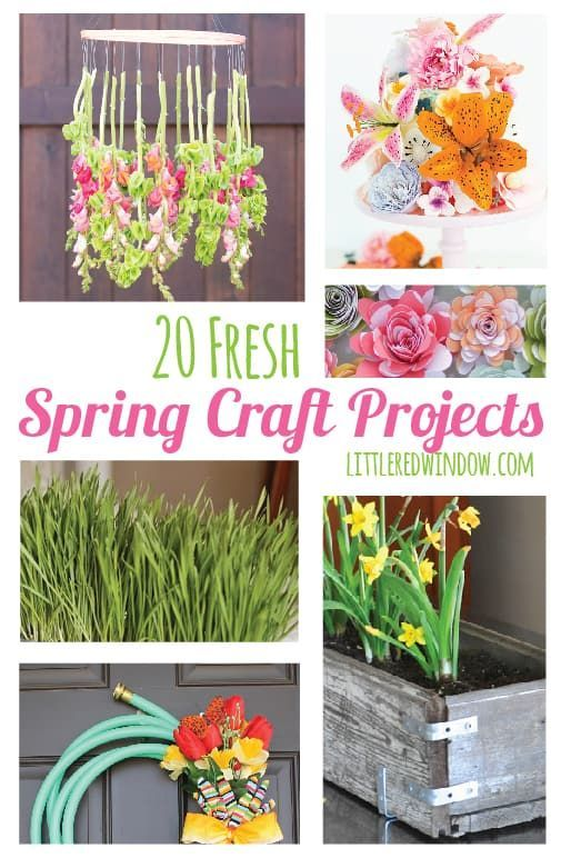 20 Fresh Spring Craft Projects