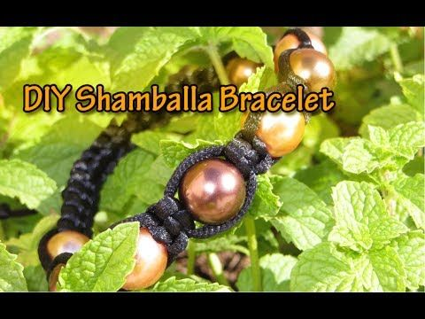 This Tutorial shows how to make an Super Easy and Cool Macrame Beaded Bracelet - How To Make Your Beaded Macrame Bracelet - Easy and Quick DIY friendship bra...