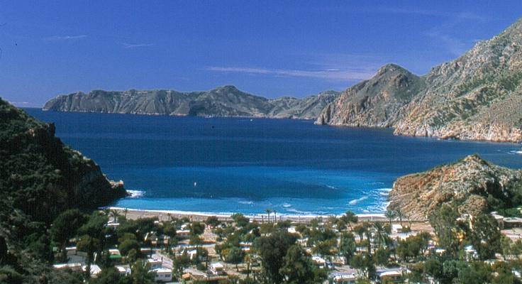 Bahía del Portús, uno de mis lugares favoritos de la Región de Murcia.