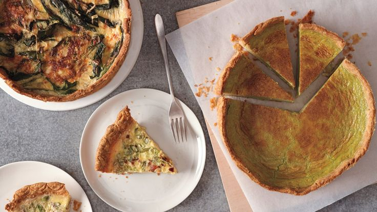 This recipe makes enough for one quiche baked in a nine-inch springform pan, or…