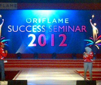 opening Oriflame success seminar 2012