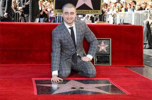 Дэниел Рэдклифф получил именную звезду на Аллее славы Голливуда