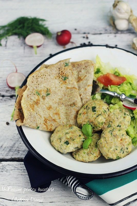 Zucchini and chicken balls-Dukan #dukan #recipe #diet