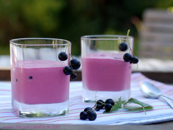 Blackcurrant Mousse for hot summer days! (from Chili & Ciabatta)