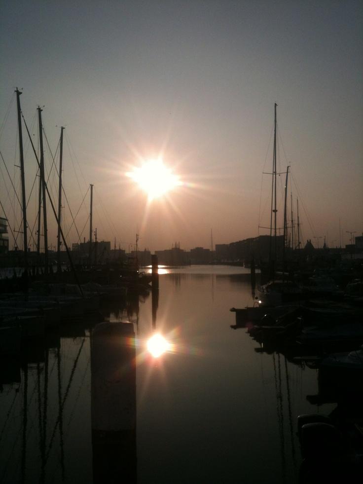 The Hague Den Haag Scheveningen Haven Harbour