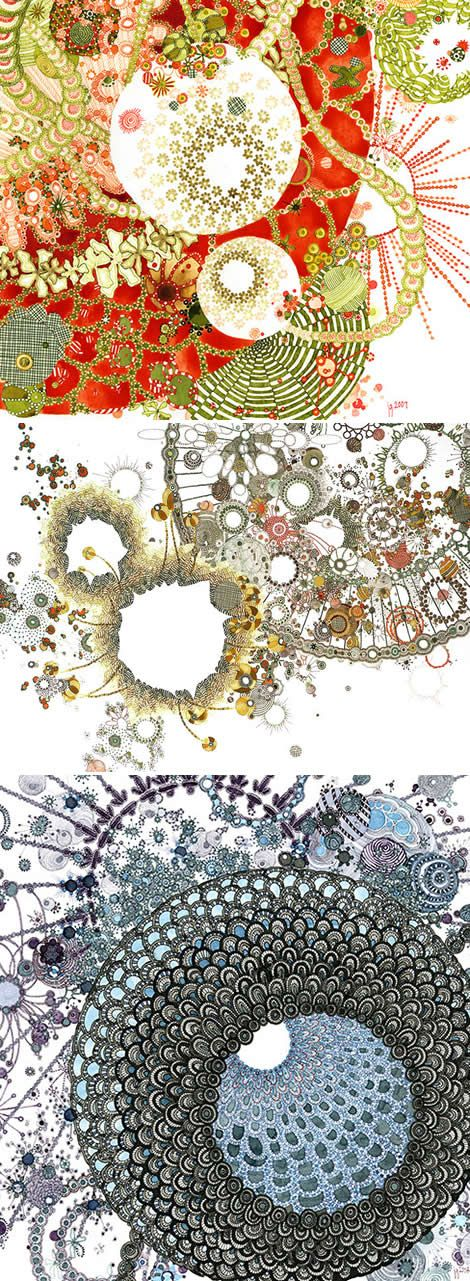 JILL GALLENSTEIN     :::  pen and ink drawings: Art Color, Gorgeous Pens, Color Inspiration, Artsy Stuff, Ink Drawings, Zentangle Doodles, Pens And Ink, Zentangle Design Color, Jill Gallenstein