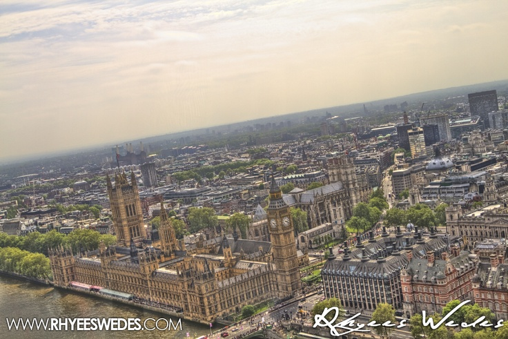 London's Eye Watching From Above!!!...