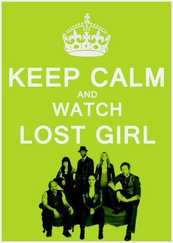 Lost Girl  only just started watching this and I love it :)