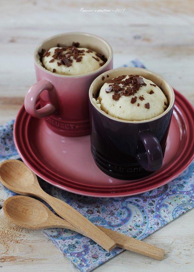 Mug cake alla vaniglia e la mia ultima lettura | Pensieri e pasticci