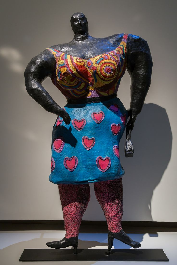 2014/10/10 18h04 Niki de Saint Phalle, «Black Rosy ou My Heart Belongs To Rosy» (1965) | Exposition Niki de Saint Phalle, Grand Palais (Paris)