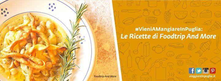 Il mercoledì con le ricette di #VieniAMangiareInPuglia, siete pronti? Oggi siamo nella cucina di Food Trip and More e impariamo a preparare ciceri e tria. Accendete i fornelli e continuate a seguirci!