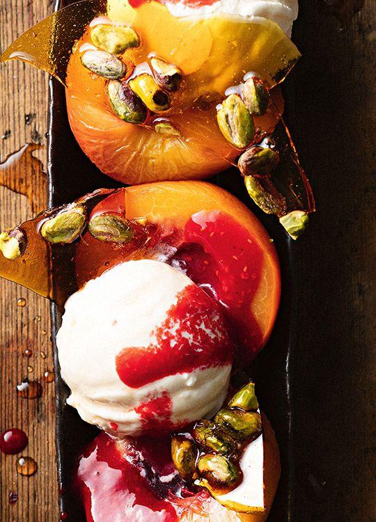 How to make Peach & Pistachio Melba