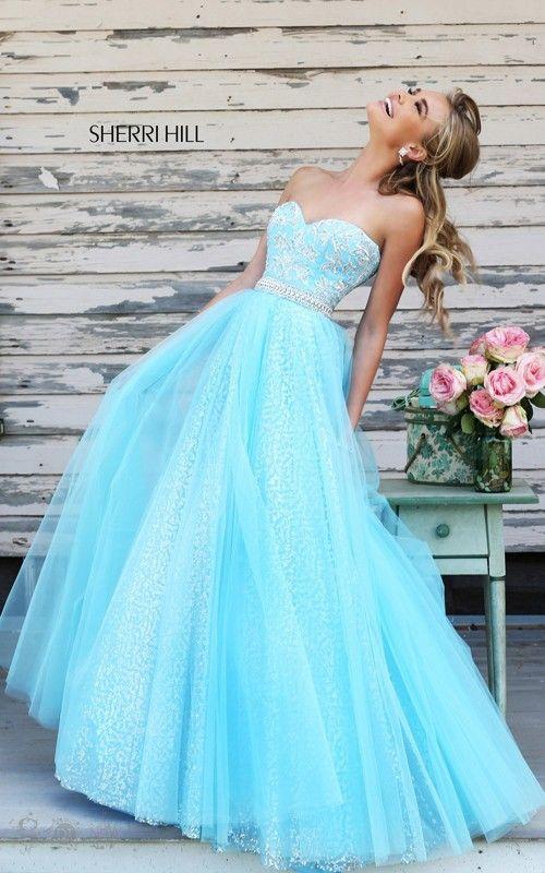 Beads Sweetheart Sherri Hill 11186 Ball Gown 2015