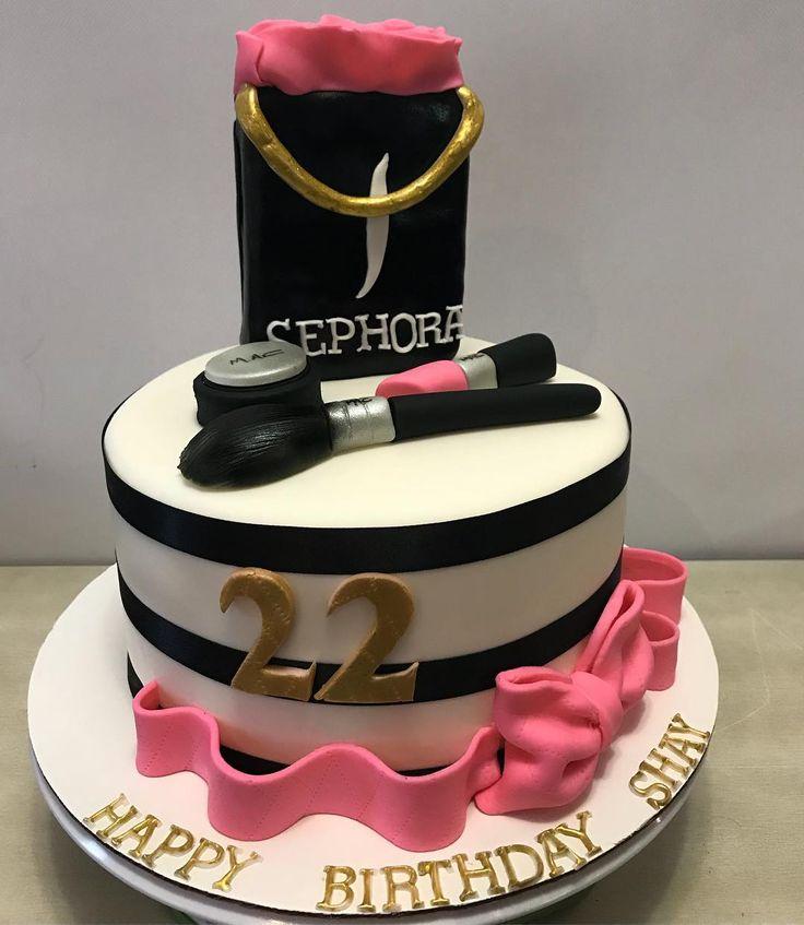 Sephora Makeup Cake...sephora...makeup...mac...beauty