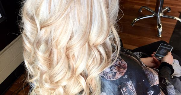 Platinum blonde with carmel blonde lowlights   Hair by ...