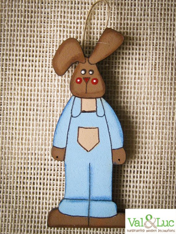 Easter Uncle Tony Bunny by ValandLuc on Etsy, $8.75