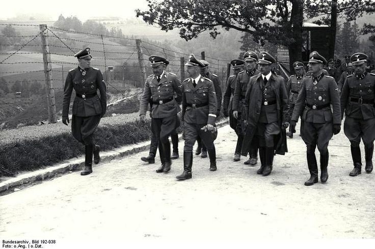 visit of heinrich himmler in mauthausengusen