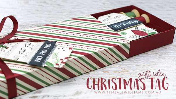Teneale Williams | Stampin' Up! Australia | Set of 15 tags handmade to gift someone this Christmas