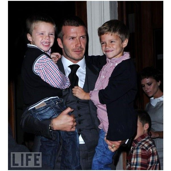 Today's Sexiest Celebrity Dads - Photo Gallery, 14 Pictures - LIFE ❤ liked on Polyvore featuring home and home decor