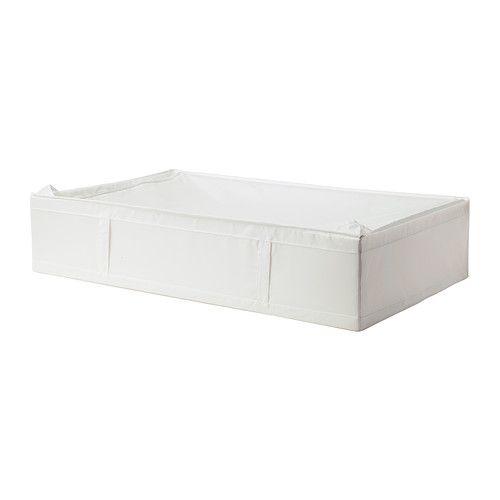SKUBB Säilytyslaukku IKEA Sopii myös sängyn alle ylimääräisten vuodevaatteiden säilytyspaikaksi. Suojaa vaatteita ja vuodevaatteita pölyltä.