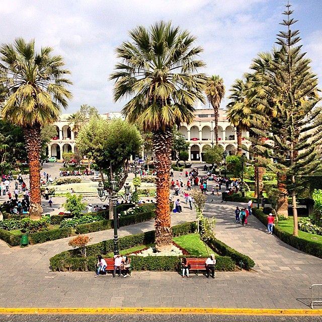 Hello from Arequipa. #travel #peru #greatview #green #beautiful