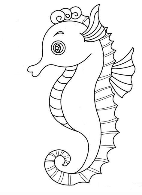 resultado de imagen de pinterest caballito de mar sin fondo