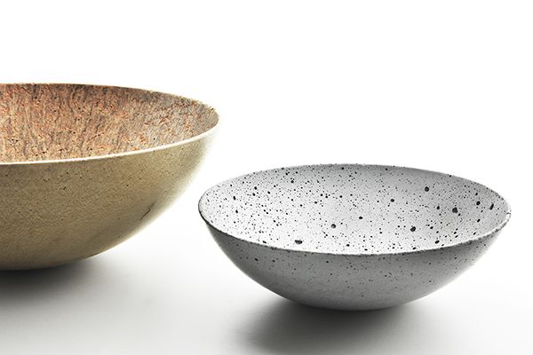 Handmade  bowls from concrete are unique thanks to the way of processing. Smooth and glossy surface in combination with small imperfections of the concrete make a balanced combination, it keeps a visual aspect of a natural material and can become the unique element of your interior.  design by Tomas Vacek www.studiovacek.cz designed for www.gravelli.com