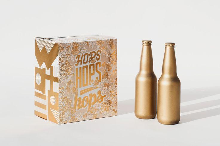 Специалисты из канадского креативного агентства Toolbox Design подготовили проект дизайна упаковки для пива на мероприятие «The Art of the Six Pack» проводимого в рамках Victoria Craft Beer Week in Canada. Задача Toolbox Design заключалась в демонстрации новейших технологий печати. В результате получилась картонная коробка для бутылок покрытая золотой фольгой с изображениями которые демонстрируют рецепт упакованного в нее пива.   http://am.antech.ru/pywz