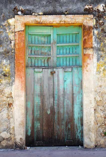 Aqua door