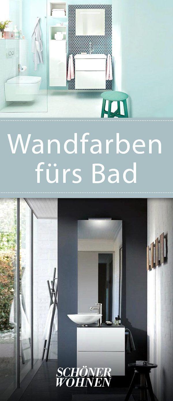 Wandfarben fürs Badezimmer | Badezimmer farben, Moderne ...