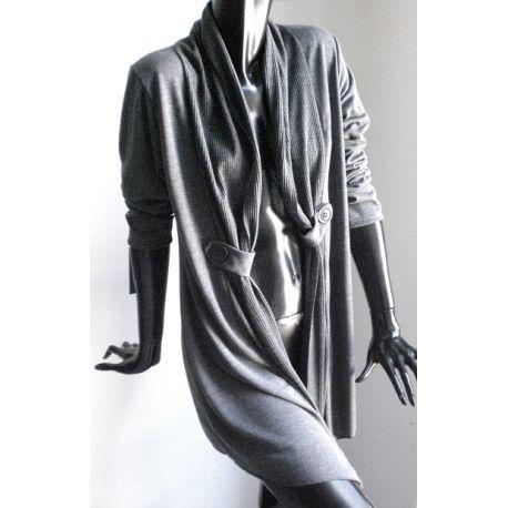 Long elegant cardigan