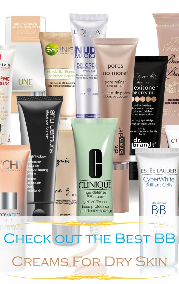 The 5 Best BB Creams For Dry Skin