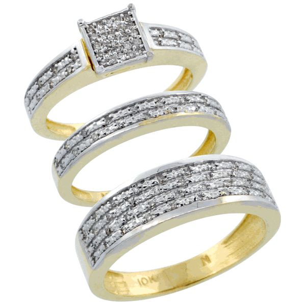 his and hers gold wedding rings 15 best images about his and hers wedding ring sets on 4809