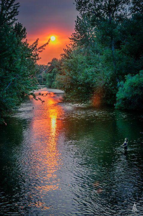 ✯ Boise River...and a river runs through it