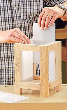 Garten-Laternen selbst bauen: Schritt 6 von 10